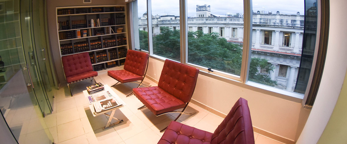 Interiores -sala de espera